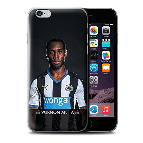 Offiziell Newcastle United FC Hülle / Case für Apple iPhone 6+/Plus 5.5 / Pack 25pcs Muster / NUFC Fussballspieler 15/16 Kollektion Anita