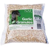 Naf - Gránulos de Ajo - Suplemento Alimenticio para la Salud del Caballo - Bolsa de 1 kilo para rellenar