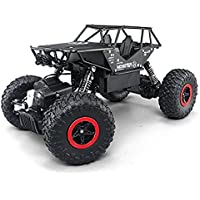 AmazonUkkitchen deAO RC Off Road 4x4 Rock Crawler Racing Car 2.4GHz 4WD High Speed 1: 14 All Terrains Vehicle Remote Control Fast Race Crawler () - Compare prices on radiocontrollers.eu