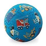 Crocodile Creek Spielball mit Fahrzeuge - Motiv , blau ( 17,8 cm.)