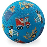 "Playground Ball - 7"" Rubber Sports Ball - PVC, BPA, and Vinyl-Free"