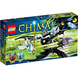 Lego - A1400517 - Jet Ailé De Braptor - Chima