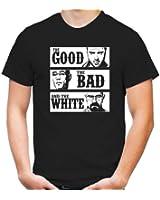 The Good the Bad and the White T-Shirt   Kult   Männer   Herren   Breaking   Heisenberg   Bad