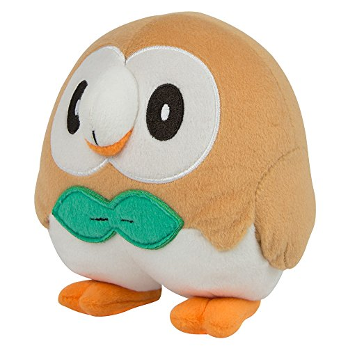 "Pokemon T18536D15ROWLET 8-Inch ""Rowlet"" Plush Toy"
