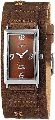 Just Watches 48-S10627-BR - Orologio da polso donna, pelle, colore: marrone