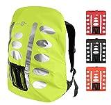 Regenschutz Rucksack Rucksack Überzug mit reflektierenden Elementen und Extra-Tasche -