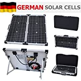 60W 12V Photonic Universe folding solar charging kit for a motorhome, caravan, campervan, car, van, boat, yacht - ideal for camping, caravanning, motorhome rallies, trade shows, mobile offices or any other off-grid 12V system (60 watt 12 volt)