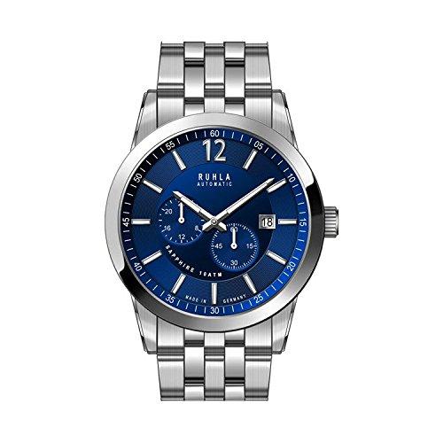 reloj–automático–acero inoxidable acero inoxidable–plata