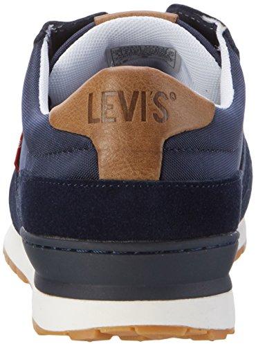 Levi's Ny Runner Ii, Baskets Basses Homme Bleu (Navy Blue)