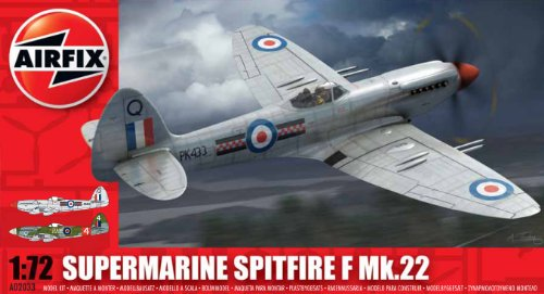 airfix-a02033-supermarine-spitfire-f22-172-scale-series-2-plastic-model-kit