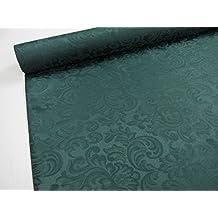 Confección Saymi - Metraje 0,50 mts. tejido Raso Ref. Damasco, color Verde Botella, con ancho 2,80 mts.