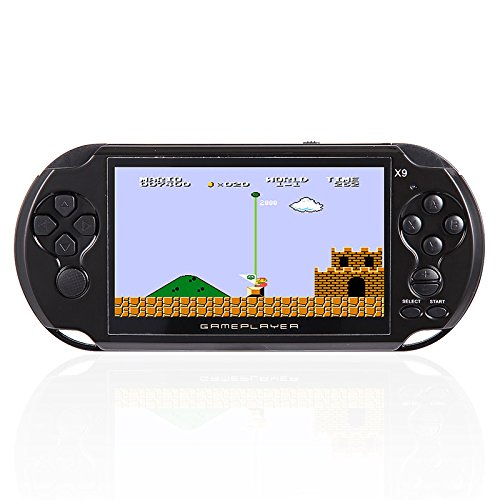 Zantec Consola de videojuegos Portátil Retro Videoconsola Reproductor de MP3 Cámara Niños Regalos de Navidad