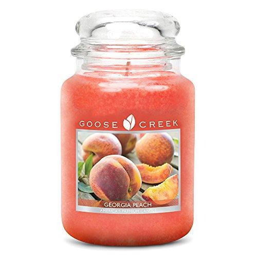 Goose Creek Große 24 oz Kerzen im Glas - Georgia Peach -