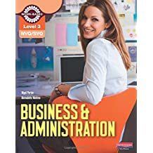 NVQ/SVQ Level 3 Business & Administration Candidate Handbook (NVQ Business and Administration)
