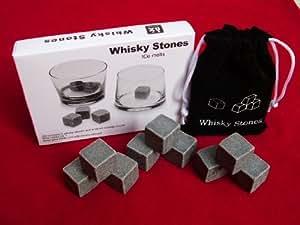 Whisky pierre glace 9pcs cube avec pochette