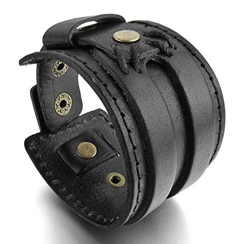 mendino-leder-armband-fur-herren-damen-breit-handgefertigt-schmuck