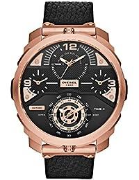 Lindberg & Sons LSSM201B - Reloj del metal para hombre, color blanco / plateado