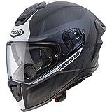 Caberg Drift Evo Carbon Motorcycle Helmet S Matt Anthracite White
