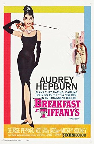 Frühstück bei Tiffany - Breakfast at Tiffany's (1961) | UK Import Filmplakat, Poster [61 x 91,5 cm]