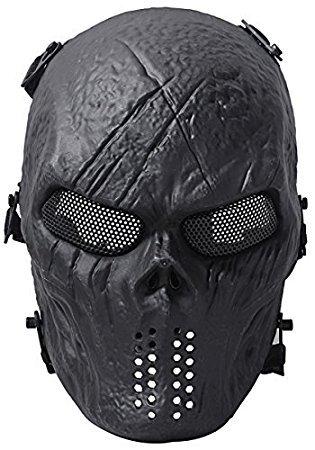 whobabe Softair Maske Cool Maske Staub Halloween Masken für (Halloween Kostüm Arbeits)