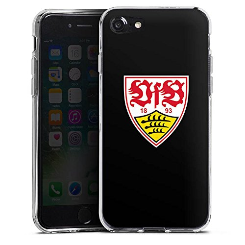 Apple iPhone 7 Hülle Case Handyhülle VfB Stuttgart Fanartikel 1893 Fußball Silikon Case transparent