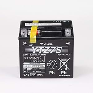 Batterie 12V 6AH YTZ7S, Gel Yuasa pour BMW G 450 X K16 | BMW HP4 K42 | Gas Gas EC 400 FSE | Gas Gas EC 450 FSR | Gas Gas FSE 450 | Generic Trigger 125 SM | Honda ANF Innova JC37 | Honda CB 600 F H