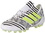 adidas Herren Nemeziz 17.1 AG Fußballschuhe, Mehrfarbig (FTWR White/solar Yellow/core Black), 41 1/3 EU