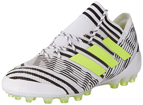 watch f2eaf 2b809 adidas Nemeziz 17.1 AG, Botas de fútbol para Hombre, Blanco (Ftwbla Amasol