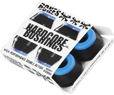 Bones Hardcore Black Skateboard Bushings - Soft