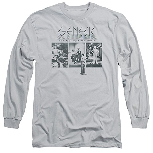 Genesis Lamb Down On Broadway-L/S Erwachsenengröße 18/1-Leder - - Groß -