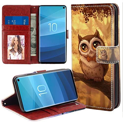 S10e 5.8inch Handyhülle Kompatible für Samsung Galaxy S10e Hülle Premium PU-Leder Stylish Design Cover Leder Tasche Flipcase Schutzhülle Handytasche Skin Ständer Klapphülle Schale Bumper