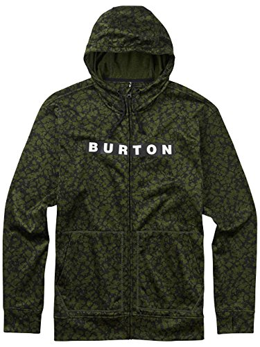 Burton Herren Hoodie MB Oak FZ rifle green moss