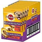 Pedigree Riesenknochen Mini mit Rind Hundesnacks, 8 Beutel, 8er Pack (8 x 180 g)