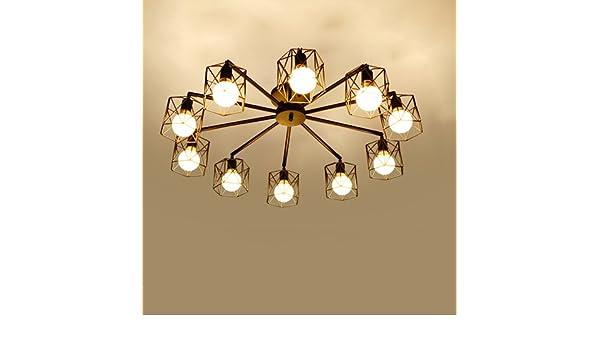 Plafoniere Vintage Prezzi : Modeen plafoniere vintage lampadari industriali lampada a gabbia