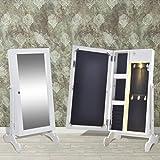vidaXL-Espejo-armario-joyero-blanco-con-luz-LED