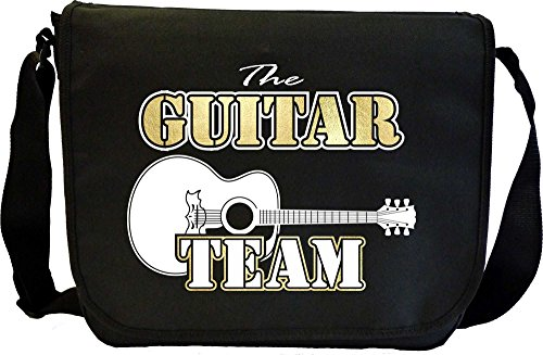 Acoustic Guitar Team - Sheet Music Document Bag Musik Notentasche MusicaliTee (Plektren Martin)