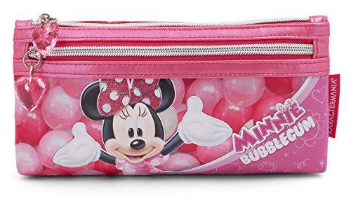 Pink Rosa 20 cm Minnie Mouse Bubblegum Toiletry Bag