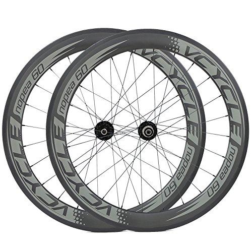 [VCYCLE nopea] 700C freno a disco ruote in carbonio 60mm copertoncino ruote per bicicletta della strada