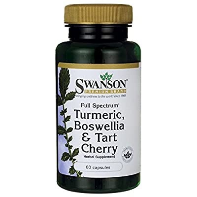 Swanson Full Spectrum Turmeric, Boswellia & Tart Cherry (60 Capsules) by Swanson Health Products