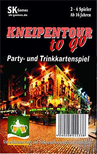 Kneipentour to go - das Party- und Trinkspiel (Kartenspiel)