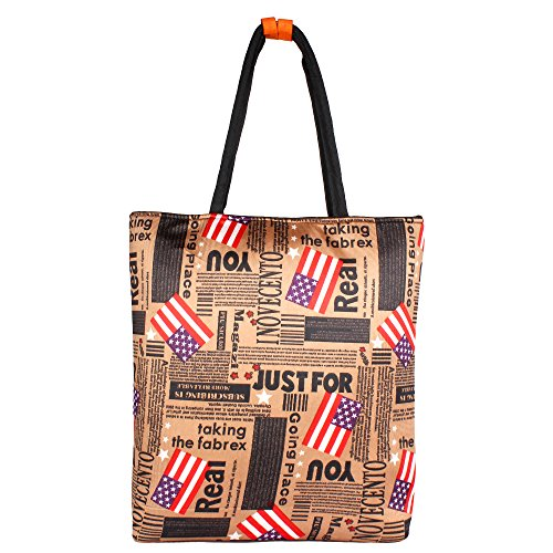 Paper Plane Design 'Travel tote bags fashion bag waterproof vintage large capacity quality luggage duffle bags casual handbag women travel bags with zipper  available at amazon for Rs.299