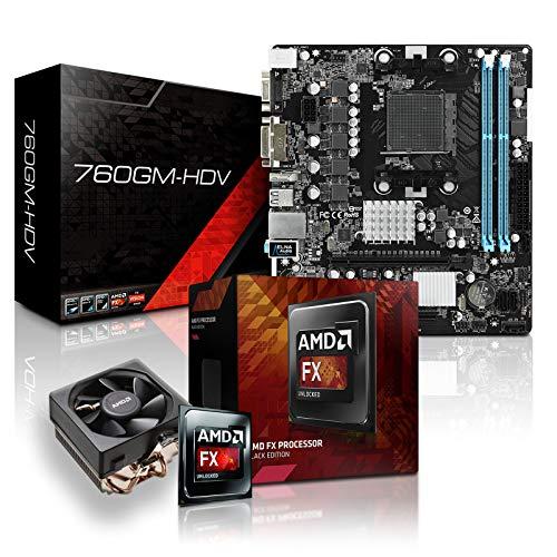 dercomputerladen PC Aufrüstkit AMD FX-6350 6x3.9 GHz - Radeon HD3000-1GB, Mainboard Bundle, Tuning Kit, für Spiele und Office geeignet