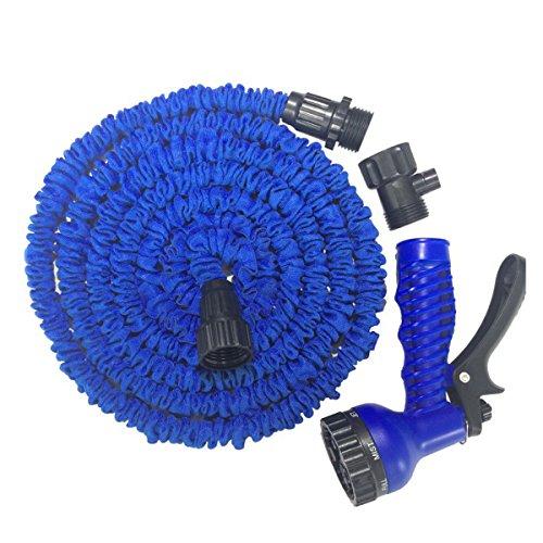 Gartenschlauch, erweiterbar Magic Schlauch Extra 7Einstellung Stärke Stoff Reinigung Maschine gelten Garten Rasen, Auto (Maschine Schwere Nebel)