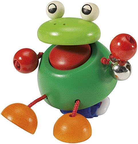 Selecta 61049 Pepito, Kinderwagenspielzeug mit Klettverschluß, 8 cm