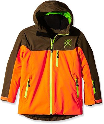 Watts 2gamma Jungen-Skijacke 10 Jahre Orange - orange