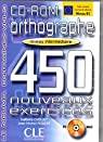 Orthographe 450 exercices par Robert