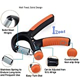 #5: Izoo Adjustable Hand Gripper - Exerciser Strengthener Hand Exerciser Resistance 10Kg To 40Kg For Gym,Strong Wrist, Finger, Forearms