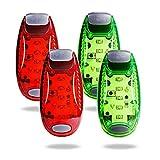 TBoonor LED Sicherheitslicht Clip auf Dauerlicht und Blinklicht Running Lichter für Läufer