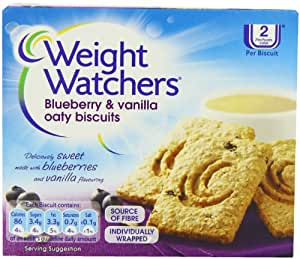 WeightWatchers Blueberry and Vanilla Oaty Biscuits 152 g (Pack of 10)
