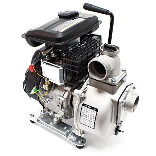 "LIFAN Benzin Wasserpumpe 9m³/h 20m 1.4kW (1.9PS) 50mm (2\"") Gartenpumpe"
